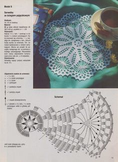 Learn to knit and Crochet with Jeanette: Patterns of crochet doilies. Free Crochet Doily Patterns, Crochet Doily Diagram, Crochet Motifs, Crochet Chart, Thread Crochet, Filet Crochet, Crochet Designs, Crochet Stitches, Crochet Dollies