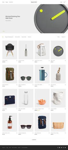 Savoy - Ajax eCommerce Theme - Minimal and Clean Wordpress Design