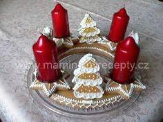 Výsledek obrázku pro vánoční ozdoby ze slaného těsta Birthday Candles, Waffles, Breakfast, Advent, Food, Morning Coffee, Essen, Waffle, Meals