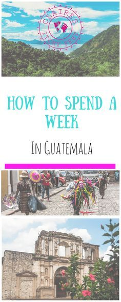 I arrived in Guatemala planning on staying for just under 3 months… I ended up there for It's an amazing country and I would recommend spending more than a week in Guatemala if you have the time. But If you are on a tight timeline, and only have a week Travel List, Travel Advice, Solo Travel, Travel Guides, Group Travel, Travel Articles, Guatemala Money, Ultimate Travel, Mexico Travel