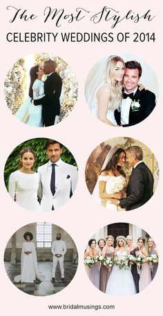 Which is your fave celebrity wedding of 2014? #celebrity #wedding