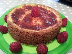 Cheesecake lamponi&boccioli di rosa