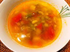 代謝アップOMA簡単デトックススープ ファスティング、断食後の綺麗になった身体に。ダイエットに野菜をいっぱいたべましょう。スパイスの効果も。 Thai Red Curry, A Food, Soup, Ayurveda, Health, Ethnic Recipes, Drink, Beverage, Health Care