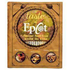 Disney Book - A Taste of Epcot Cookbook