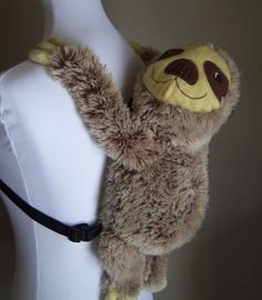 This perfect backpack to keep all your snacks in. | 27 Adorable Things Every Sloth Lover Needs