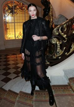 Mariacarla Boscono in Givenchy