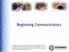 Video of the Week: Classroom Support for the Beginning Communicator