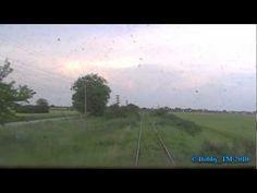 Leaving Liebling by train.