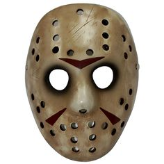 """Jason Vorhees Mask from """"Friday 13th"""" Just one of the new 2013 Halloween products from www.grandglobalsourcing.com"""