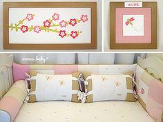 Quarto Flor de Cerejeira - Sakura - Iroma Baby - 10966