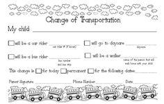 Transportation Change Request