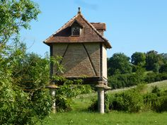 Pigeonnier in the Dordogne region in south-western France ...