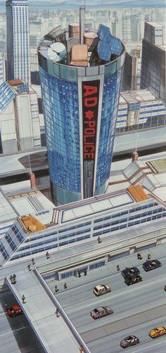Some background art from Bubblegum Crisis (1987) - Album on Imgur