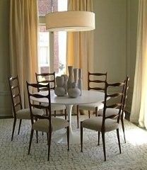 high back chairs and lighting  Explore More Home Decor