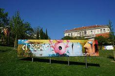 """Cartel de """"El Bosco. La exposición del V Centenario"""" en el Museo del Prado #Madrid #Cartel #Affiche #Arterecord 2016 https://twitter.com/arterecord"""