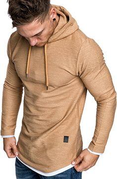 Amaci Sons Herren 2in1 Oversize Kapuzenpullover Hoodie Sweater Sweatjacke Pullover  Sweatshirt 4014 Beige S  Amazon. 5bf42d7f20
