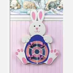 Easter Bunny Dartboard - OrientalTrading.com. Only $7