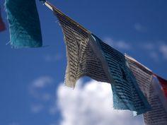 Image gratuite sur Pixabay - Drapeaux De Prière, Le Bouddhisme