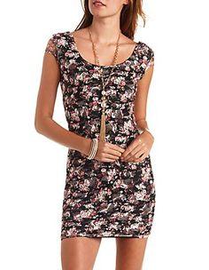 Beaded One Shoulder Chiffon Shift Dress: Charlotte Russe | Attire ...