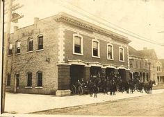 Bowling Green Fire Department, Photo Courtesy of the Kentucky Library and Museum