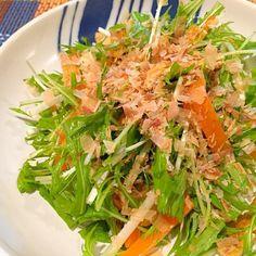 簡単でおいし〜 ポン酢好きにはたまらないです! - 48件のもぐもぐ - 水菜と油揚げのさっぱりゆずポンサラダ by rinruru810