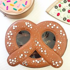 Patricia Chang- pretzel, pizza and doughnut bag