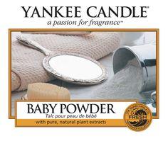 Baby Powder - Peggys - Yankee Candle & kleinkariert Ballonwelt Fachhändler