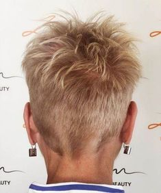Short Grey Haircuts, Short Spiky Hairstyles, Old Hairstyles, Edgy Short Hair, Short Hair Cuts For Women, Super Short Hair, Messy Pixie Haircut, Messy Pixie Cuts, Shaved Pixie Cut