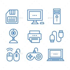 Technology Icons (JPG Image, Vector EPS, CS, black, camera, cell, cloud, communication, computer, cpu, design, device, digital, electronics, element, icon, illustration, information, laptop, phone, photo, pictogram, printer, set, sign, signal, silhouette, symbol, tablet, technology, tv, vector, wireless)