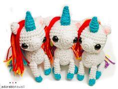 3 unicorn amis by adorablykawaii