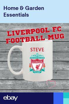 935f39f968 para regalos de navidad · Personalised Liverpool Football Club Mug - Your  Name - Ideal Present For Any Fan