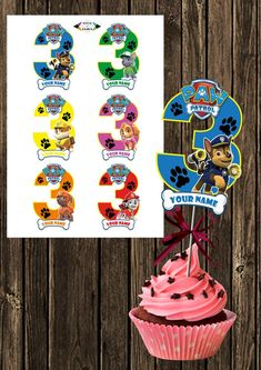 ⋙ALL FILES ARE DOWNLOADABLE. No physical items are shipped. Great quality A4 pdf file 300dpi⋘ Number 3 Paw Patrol Centerpieces. For a 3-year old! Great for a Paw Patrol Birthday party! You can choose other paw patrol party supplies from my shop: Paw Patrol Centerpiece, 4th Birthday, Birthday Parties, Paw Patrol Party Supplies, Paw Patrol Birthday, Number 3, Centerpieces, Etsy, Handmade Gifts
