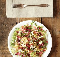 Endive Salad with Roasted Pears, Hazelnuts, & Blue Cheese   Vitamix