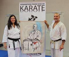 Serge Serfati, 8e dan Karate Portraits, Expositions, Dojo, Karate, Jackets, Painting, Fashion, Oil On Canvas, Paintings