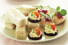 The simplest of finger food, these elegant sandwiches are a healthy mix of avocado and roast chicken.