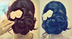 How to: Elegant Updo with Curls | Wedding Prom Hairstyles