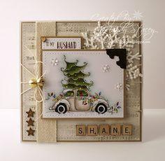 A Sprinkling of Glitter: Make It Sparkle - Simon Says Stamp DT Christmas Cards To Make, Christmas Tag, Christmas Greeting Cards, Christmas Greetings, Christmas Themes, Christmas Crafts, Xmas Cards Handmade, Beautiful Handmade Cards, Handmade Christmas