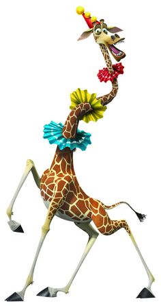 Melman the Giraffe of DreamWorks Animation's Madagascar Europe's Most Wanted - Movie still no 20 Dreamworks Movies, Dreamworks Animation, Disney Wallpaper, Cartoon Wallpaper, Madagascar Party, Giraffe Art, Displays, Character Wallpaper, Zebras
