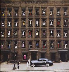 Ormond Gigli | Models in Window. New York,1960