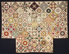 Philadelphia Museum of Art - Collections Object : Album Quilt.. ? The one that inspired Di Fords Wedding Album Quilt