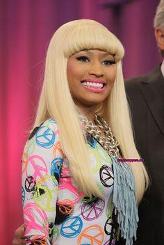 Fash Craze: Nicki Minaj Super Bass Hairstyles Pictures