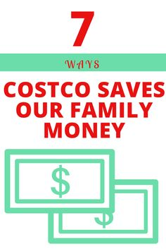 These are 7 ways Costco saves our family of 5 A LOT of money! Here are the detailed ways that we gain so much savings! For more money saving tips, check out www.onlygirl4boyz.com
