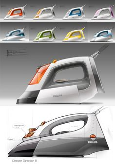 Philips Steam Iron 06 by RUSSELL BLANCHARD at Coroflot.com