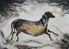 Lascaux Cave Horse by Beau H. Medlar