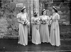 Chic Vintage 1940s Wedding – Patricia Mountbatten and John Knatchbull