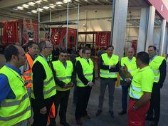 Nuevo Centro de Atención al Vehículo de XPO Logistics, ejemplo de nueva industria en Valladolid http://revcyl.com/www/index.php/economia/item/7777-nuevo-centro-de-atenci%C3