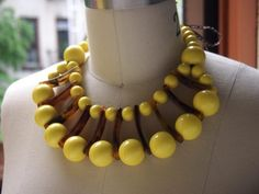 double strand beaded necklace diy