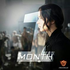 Just 1 More Month !!! Who's Ready !!! The Hunger Games: MockingJay Part 1