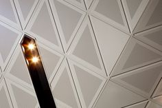 Au.diTile decorative timber ceiling tiles offer acoustic control with a premium quality finish and are ideal for offices, schools and retail environments.