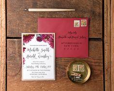 4lovepolkadots wedding invitation